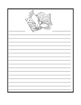 Letter Writing Paper for Veteran s Day by Nicole Daly