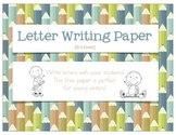 Letter Writing Paper {free}