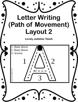 Letter Writing: Path of Motion