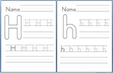 Letter Writing Practice Handouts