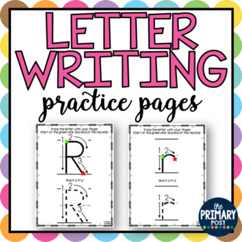 Writing Letters Practice Pages
