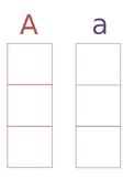 Letter Writing Practice (Uppercase and Lowercase)