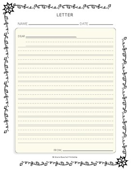 Letter Writing Rough Draft Form