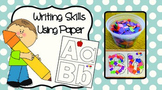 Letter Recognition and Writing Skills
