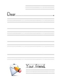 Letter Writing Stationary