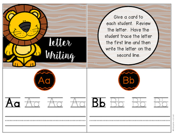 Letter Writing - Task Cards