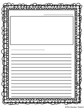 Letter Writing Template & Anchor Chart