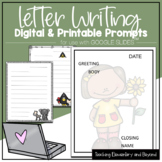 Google Classroom™ Letter Writing Templates for Distance Learning