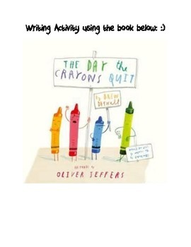 Letter Writing- The Day the Crayons Quit