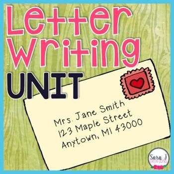 Letter Writing Unit