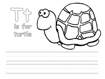 Letter Writing and Coloring Pages