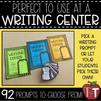 Letter Writing and/or Postcard Writing Prompt Cards