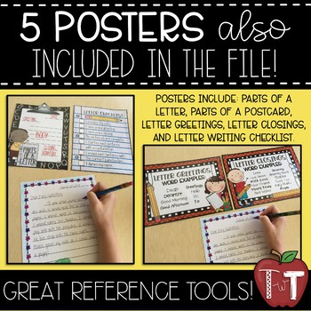 Postcard and/or Letter Writing Prompt Cards