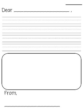 Letter Writing (introductory format)