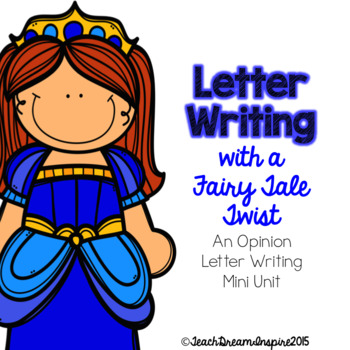 Letter Writing with a Fairy Tale Twist