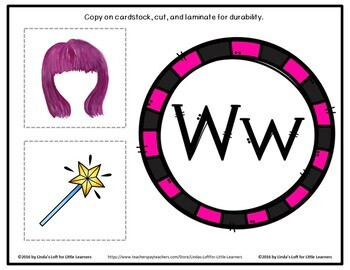 Letter Ww Beginning Sound Picture Web Activity