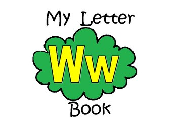 Letter Ww Book
