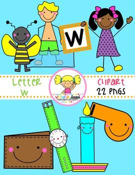 Letter Ww Clipart