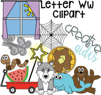 Letter Ww Clipart
