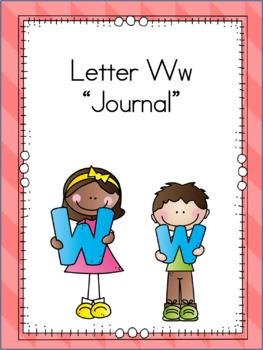 Letter Ww Journal