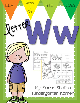Letter Ww Practice (RTI)