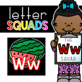 Letter Ww Squad: DAILY Letter of the Week Digital Alphabet