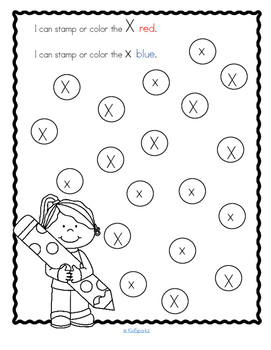Letter X Recognition, Sound, Tracing and Craftivities