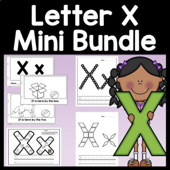 Letter X Activities {Letter X Book and 5 Letter X Worksheets!}