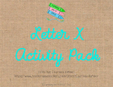 Letter X Activity Pack