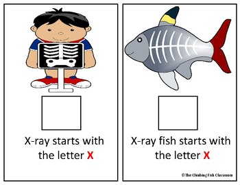 Letter 'X' Adapted Book