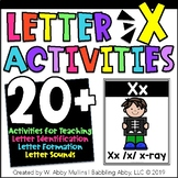 Letter X Alphabet Activities   Recognition, Formation, and Sounds