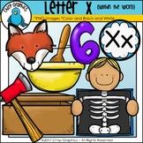 Letter X Alphabet Clip Art Set - Chirp Graphics