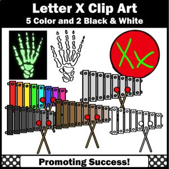 Letter X, Alphabet Letters Clip Art, Letter Sounds Clipart SPS