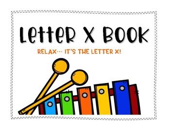Letter X Book: Handwriting Practice