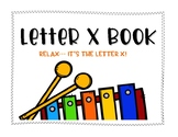 Letter X Book: Handwriting Practice