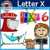 Letter X Clip Art (Xylophone, X-Ray, Mixer, Box, Six, Relax)