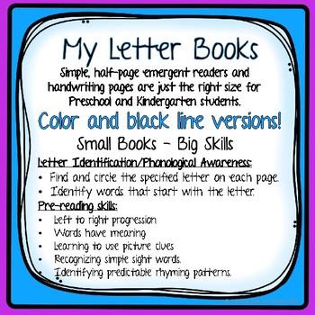 Letter Xx Emergent Reader - Alphabet Book