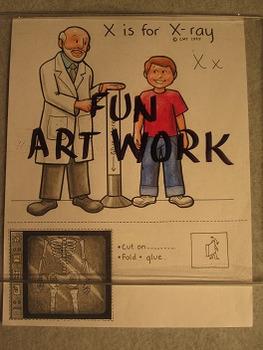 Letter X Fun Alphabet Project