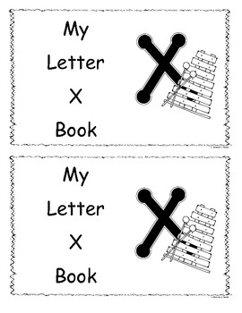 Letter X Little Reader/Book
