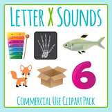 Letter X Sounds Clip Art Pack for Commercial Uses