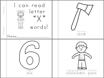 Letter Learners: Letter X
