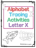 Letter X Tracing