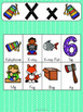 Letter X Vocabulary Cards