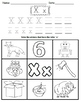 Letter X Worksheets!
