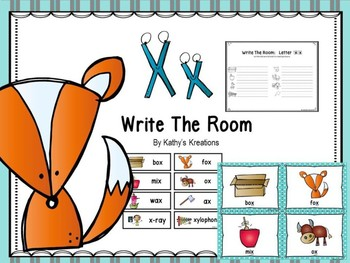 Letter X Write The Room