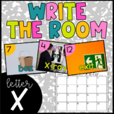 Letter X Write the Room- Literacy Station