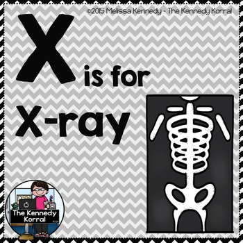Letter X is for X-ray