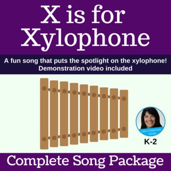 "Letter X & Xylophone Classroom Song | ""X is for Xylophone"" 