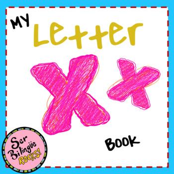 Letter X booklet