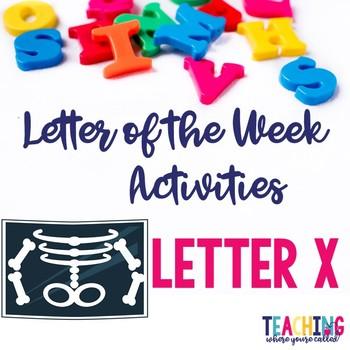 Letter Xx Activity Pack